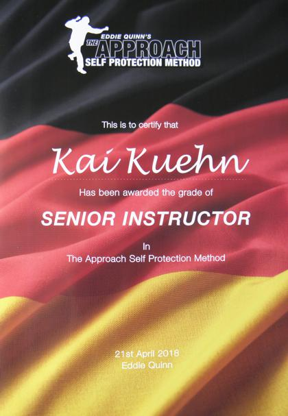 The Approach Senior Instructor
